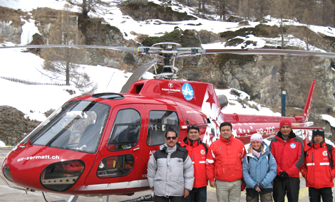 alpine rescue operation