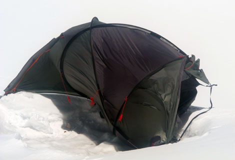 climber's tent