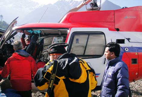 rescue from everest base camp