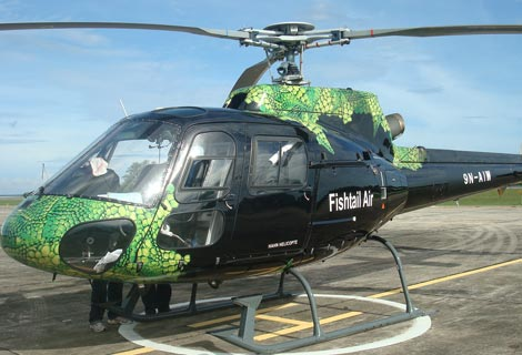 AS350 B2 Helicopter