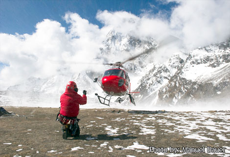 rescue in the himalayas