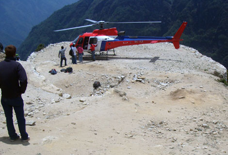 Namche Helipad