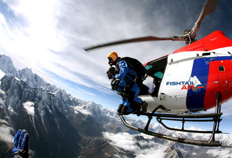 Everest skydive 2012