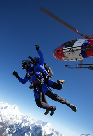 everest skydive 2014, fishtail air