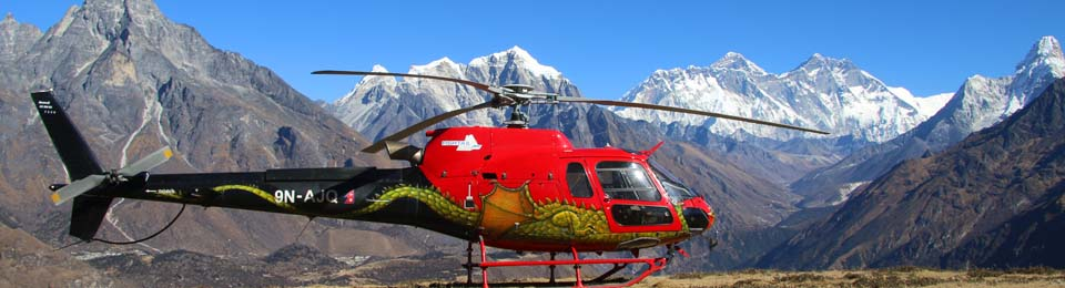 Helicopter Charter company in Nepal